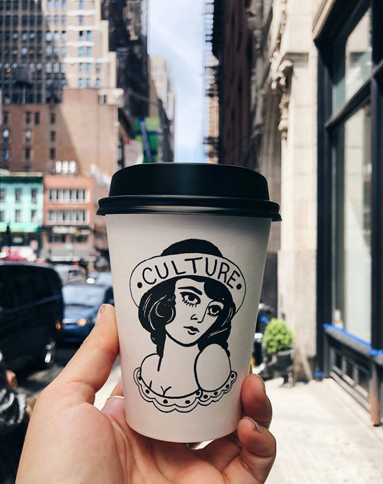 Culture Espresso, Image via Instagram @jourdanhull_