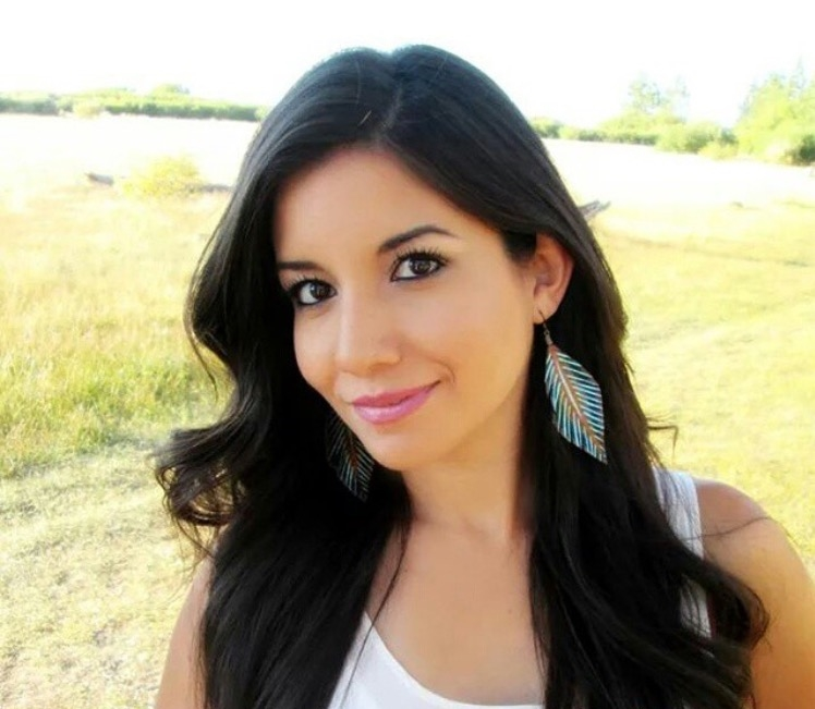 Original Leather Feather Earrings