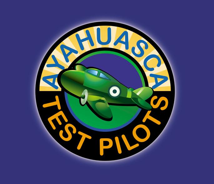 Ayahuasca Test Pilots Logo by Zoe Helene