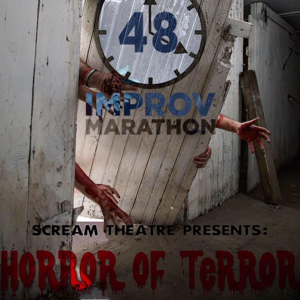 48 Hour Improv Marathon 2016 Scream Theatre