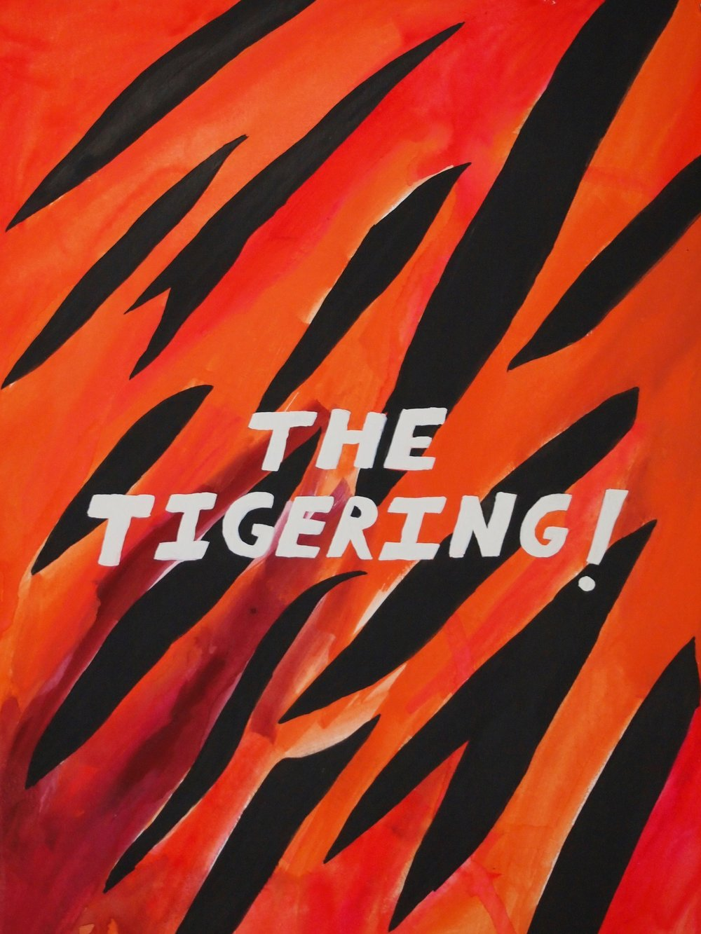 THE TIGERING! Book (front cover)