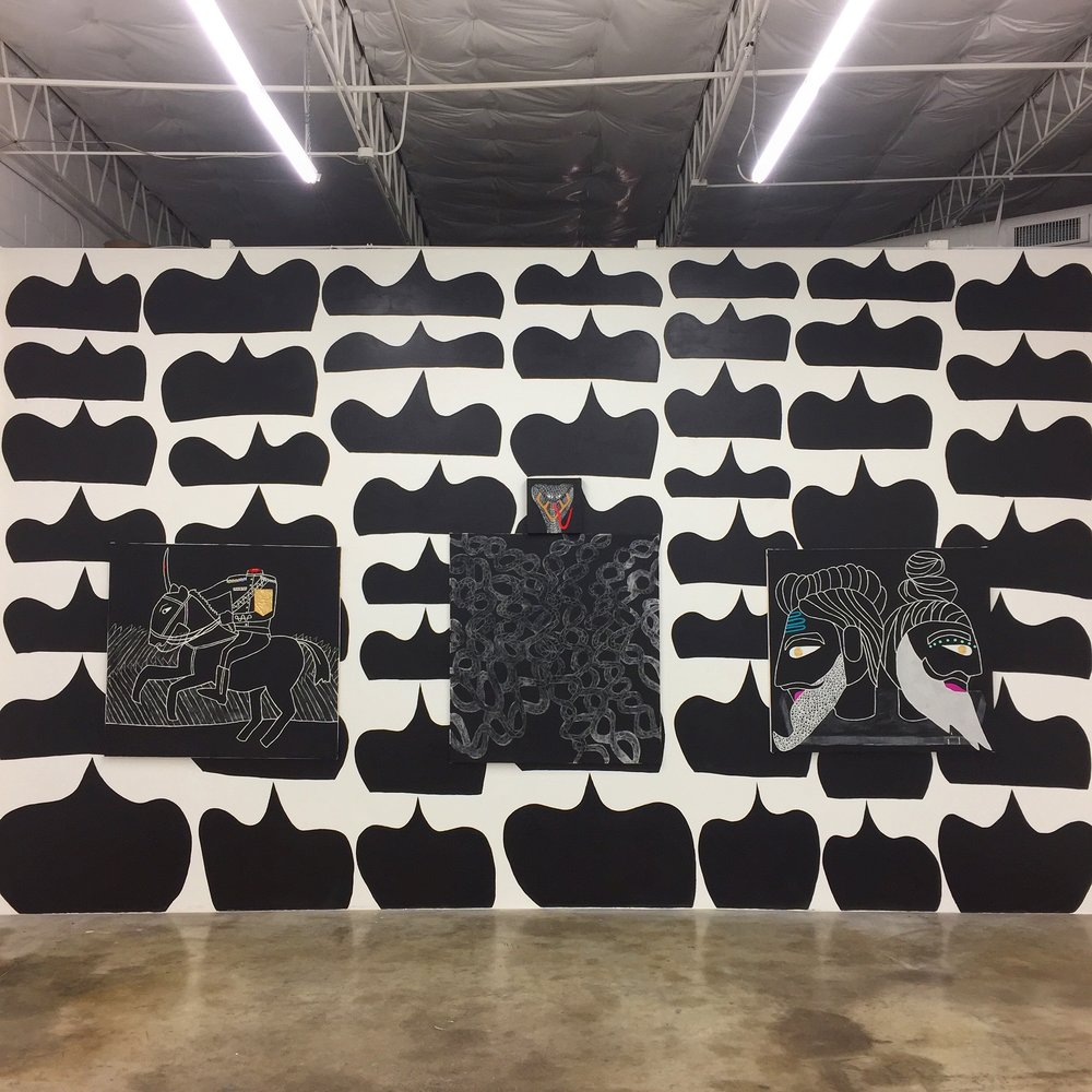 Installation view at The Public Trust, Dallas TX 2017
