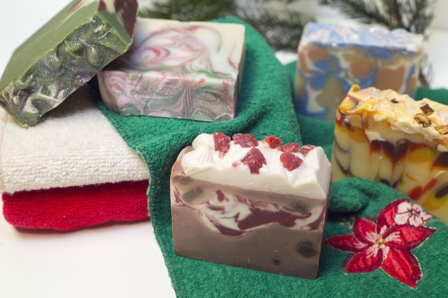 Diana from   Skinplicity   was a joy to work with! These soaps were the most interesting one's I've see and they sure smelled yummy! Stop on over to her shop for some unique skin care products!