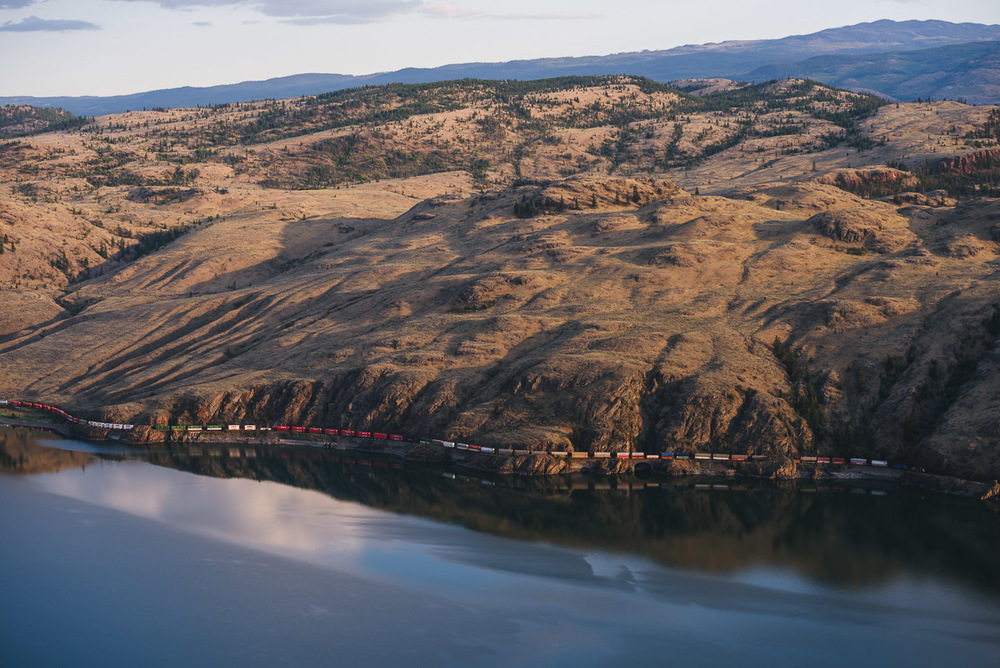 Canadian Pacific Railway, Kamloops Lake