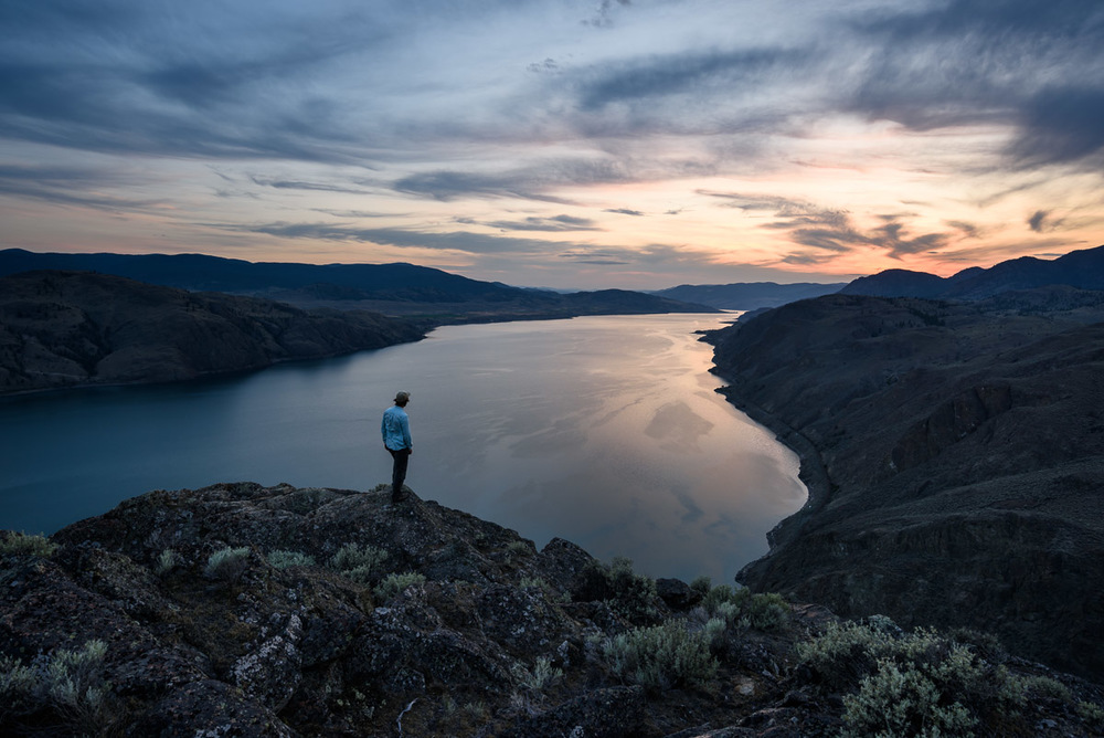 Battle Bluff, Kamloops Lake