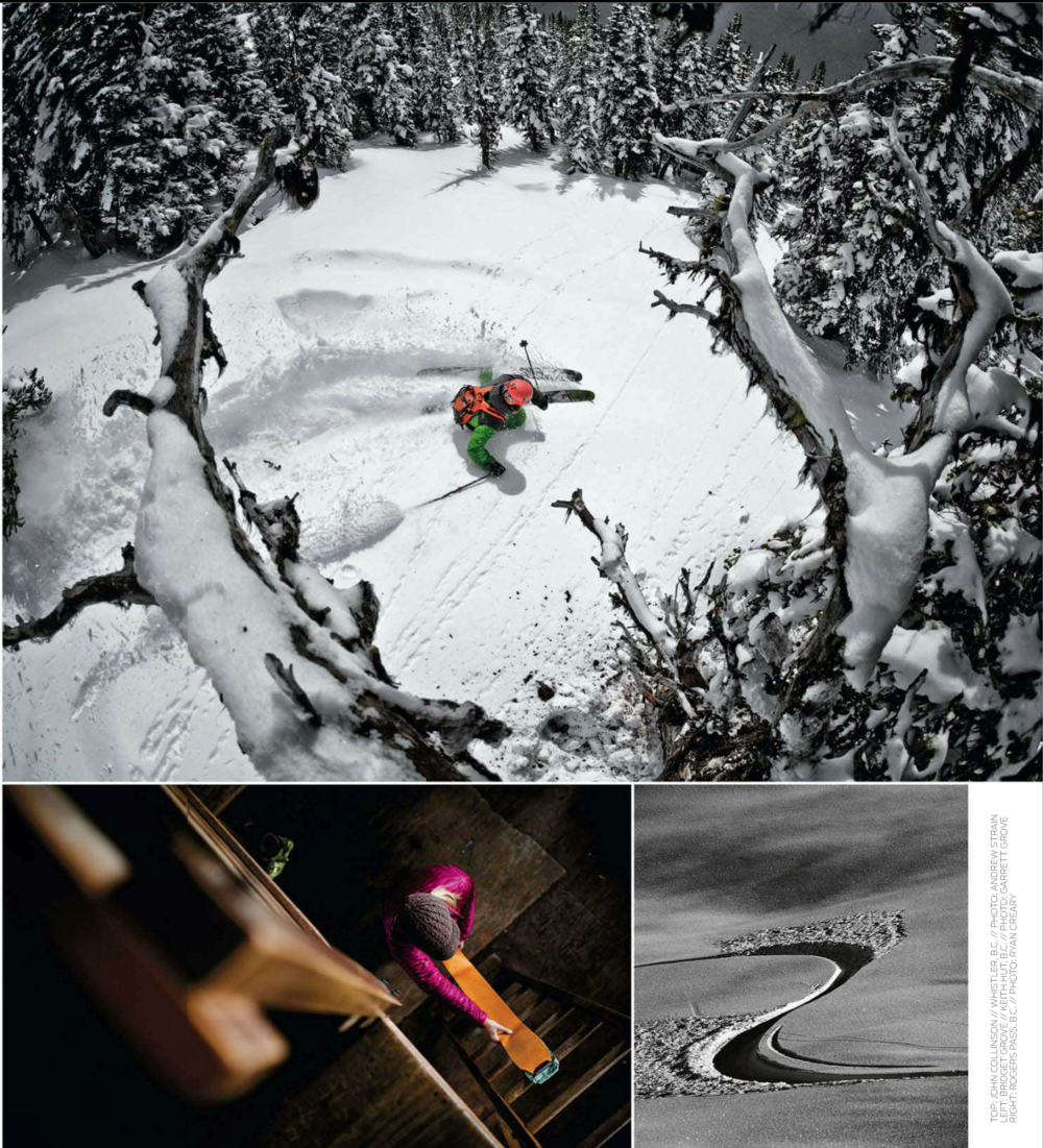 Backcountry Magazine Photo Annual. Dec 2012.