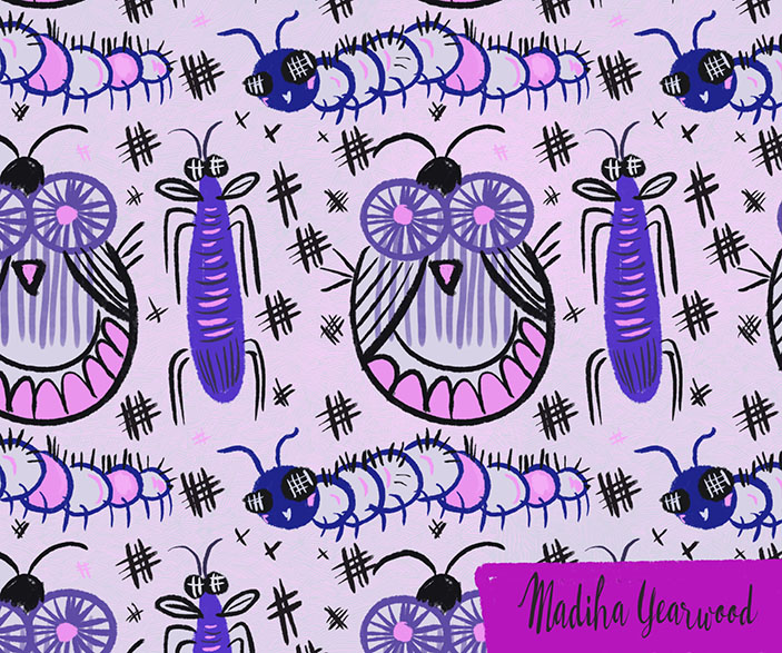 Day 56/100 A pretty cute bug pattern