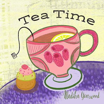 Day 82/100  Tea time illustration