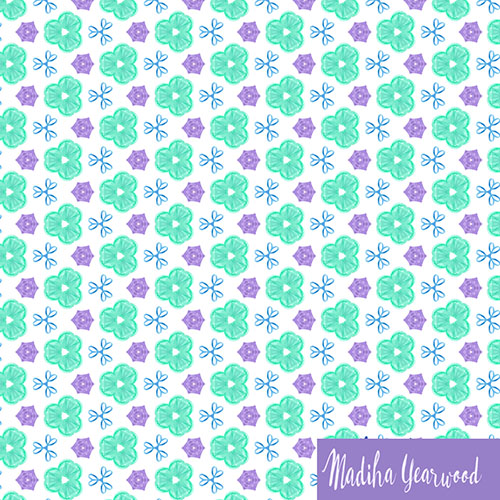 Day 92/100  A simple cute pattern