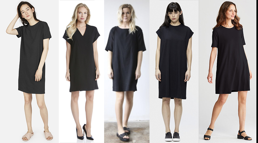 EVERLANE, KAREN KANE, HACKWITH DESIGN HOUSE, SIIZU, and EILEEN FISHER