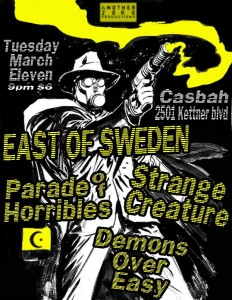 Parade of Horribles-Casbah-March 13