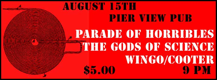 Parade of Horribles at Pier View Pub
