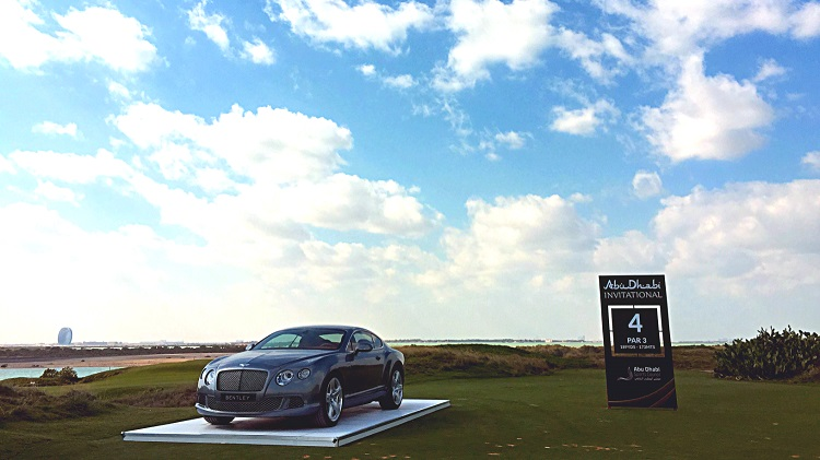 Players will be hoping for a slice of luck and a Bentley GT Speed at the fourth