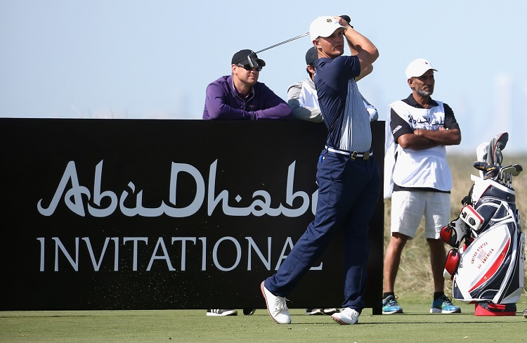 Bryson DeChambeau's amazing European Tour 'Desert Swing' continued with the best round of the day at Yas Links