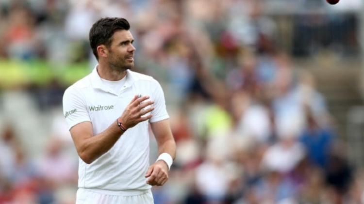 England legend Jimmy Anderson will star at the 2017 Invitational