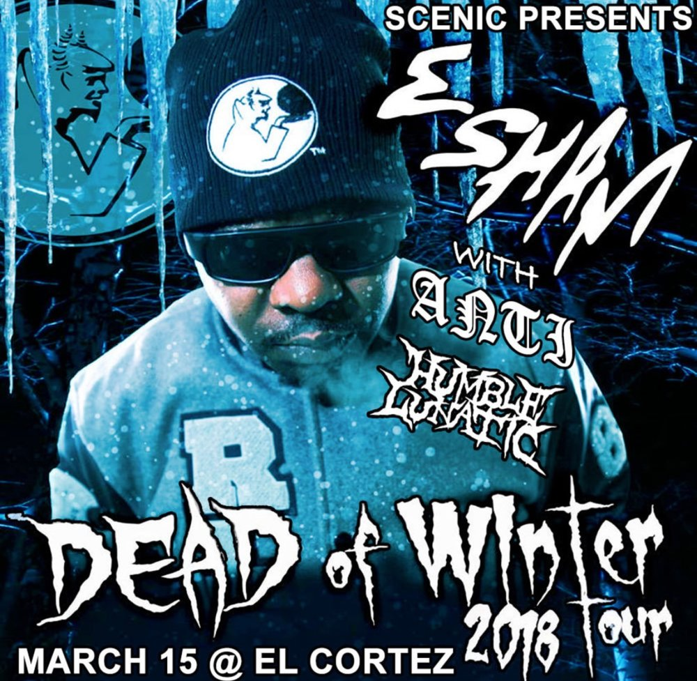 I'll be performing live for Detroit legend Esham on March 15th in Brooklyn, NY. Click the image for tickets!
