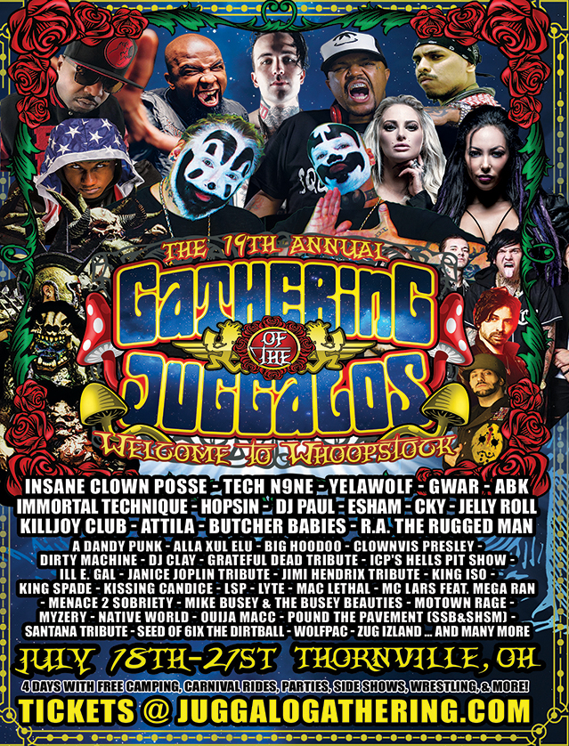 I'll be performing at this years Gathering of the Juggalos on the Pendulum Stage. Click the picture for details!!