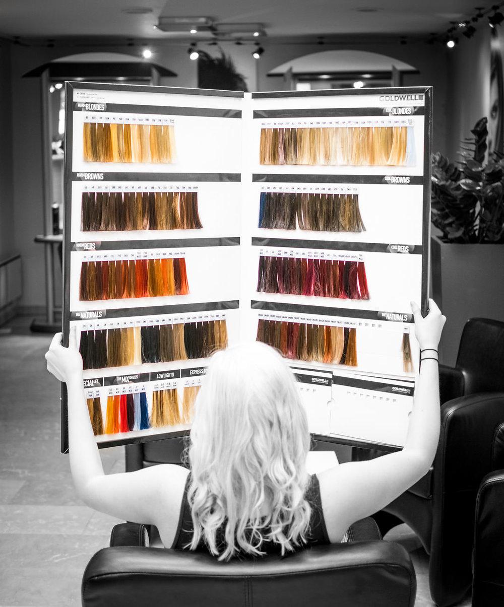 Die Firma Goldwell stellt uns mit Elumen, die erste oxydantfreie Farbe zur Verfügung. -