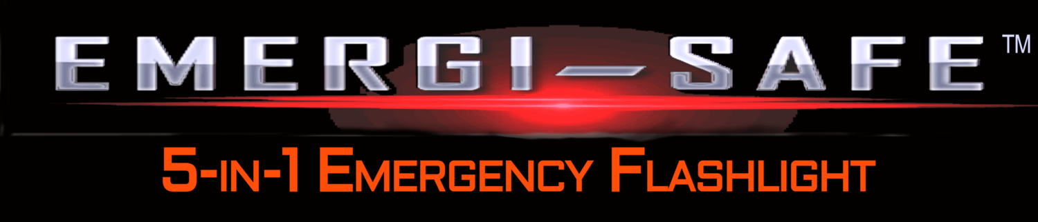 EMERGI-SAFE™ 5-in-1 Emergency Flashlight