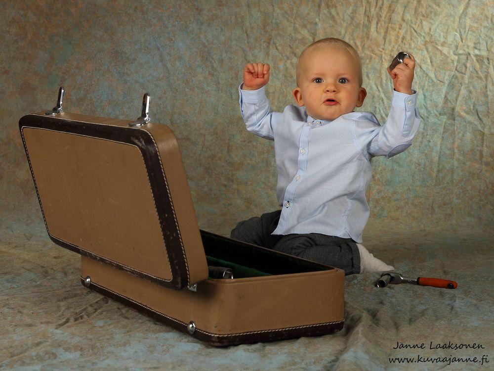 Lapsikuva asiakkaan kotona, valokuvaaja Janne Laaksonen, Riihimäki