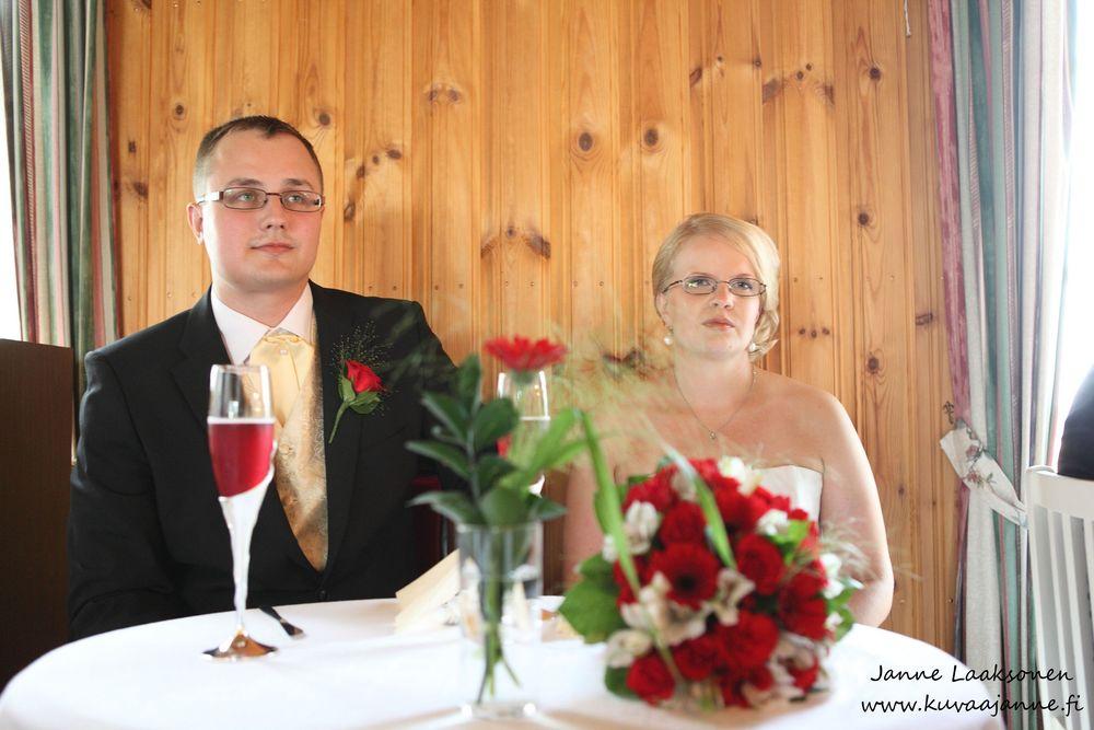 Hausjärvi, Savelan pitokartano elokuussa. Hääjuhla ja hääpari. Valokuvaaja Janne Laaksonen, Riihimäki
