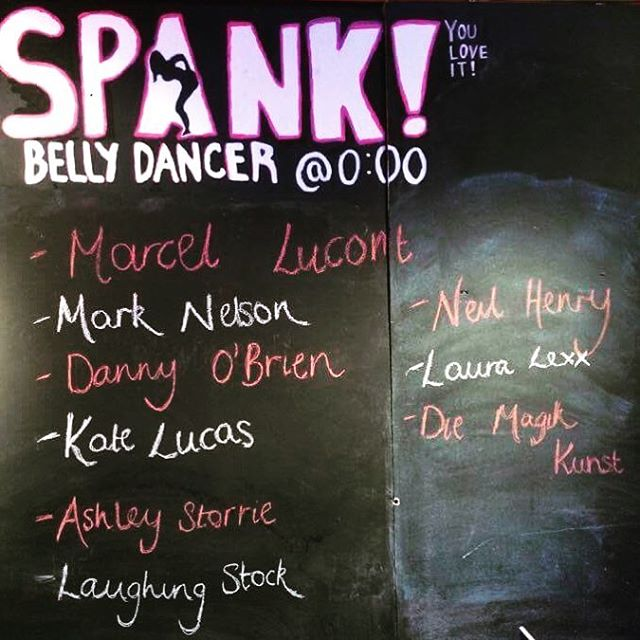 Last SPANK! of the Fringe - Laughing Stock book-ending the Festival! And what a line-up