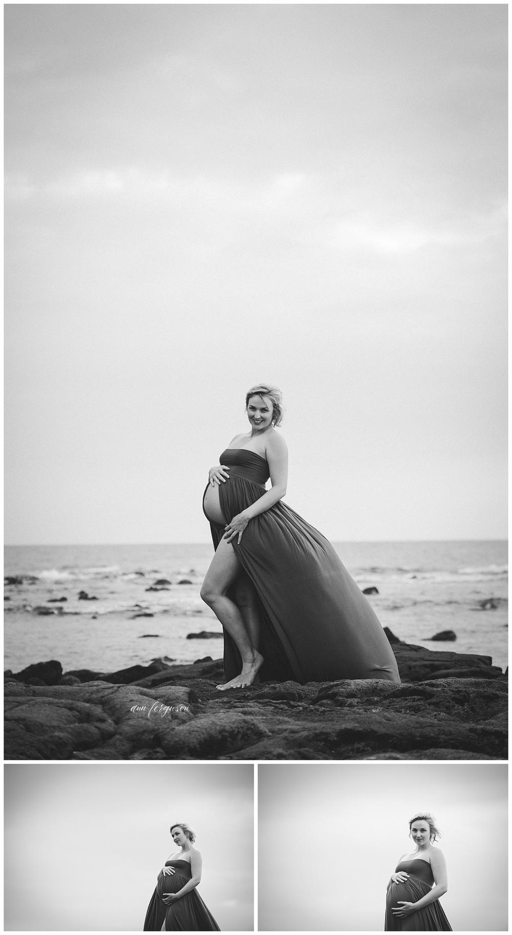 Kailua-Kona maternity shoot
