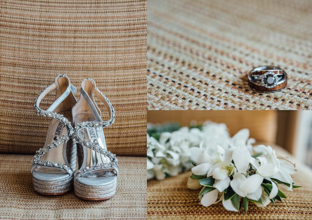 Sheraton Kona wedding details