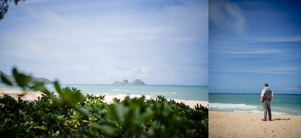 waimanalo beach wedding photography