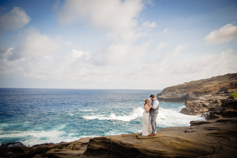 lanai lookout elopement photography
