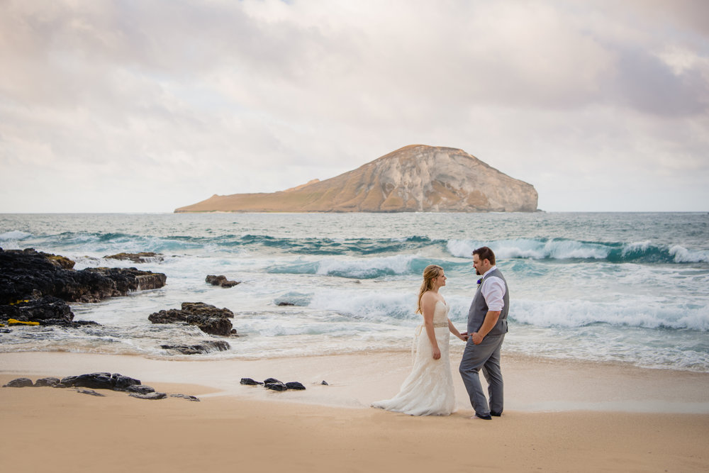 Oahu Adventure Elopement | Hawaii Wedding Photographer -