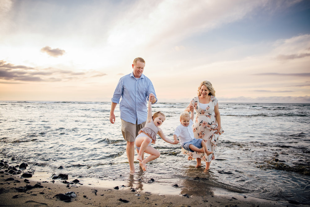 Fun Waikoloa Family Session | Big Island Family Photographer -