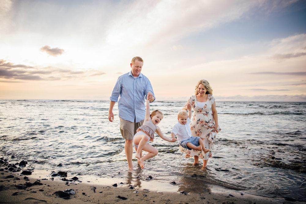 Fun Waikoloa Family Session | Big Island Family Photographer -