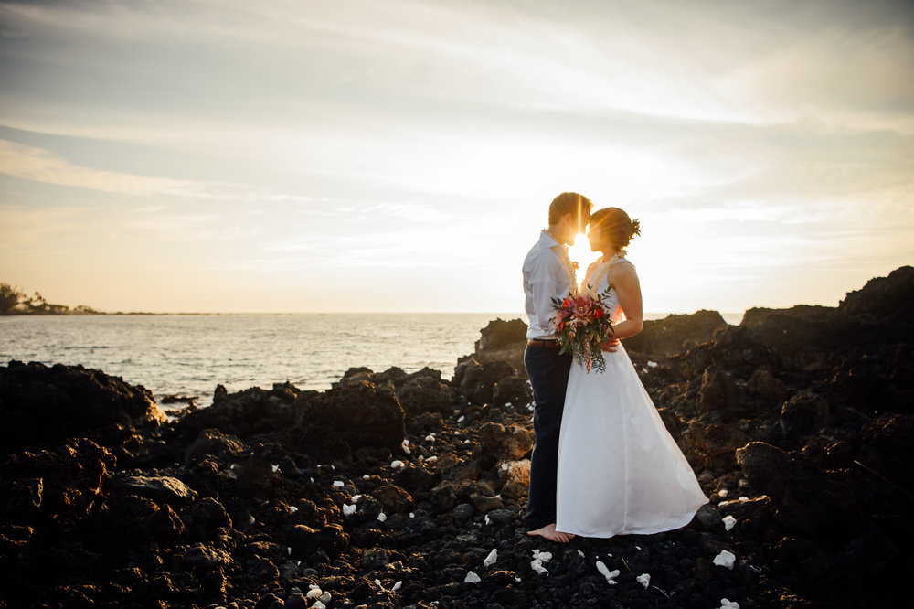 Dreaming in Color: Kona | Hawaii Elopement Photographer -