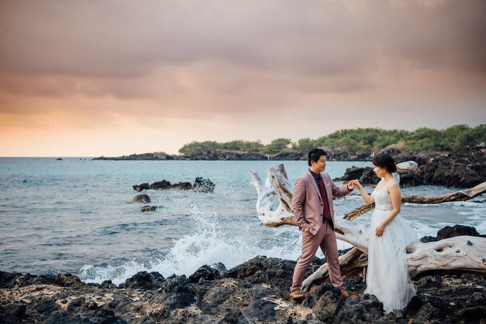 Puako Elopement | Hawaii Elopement Photographer -
