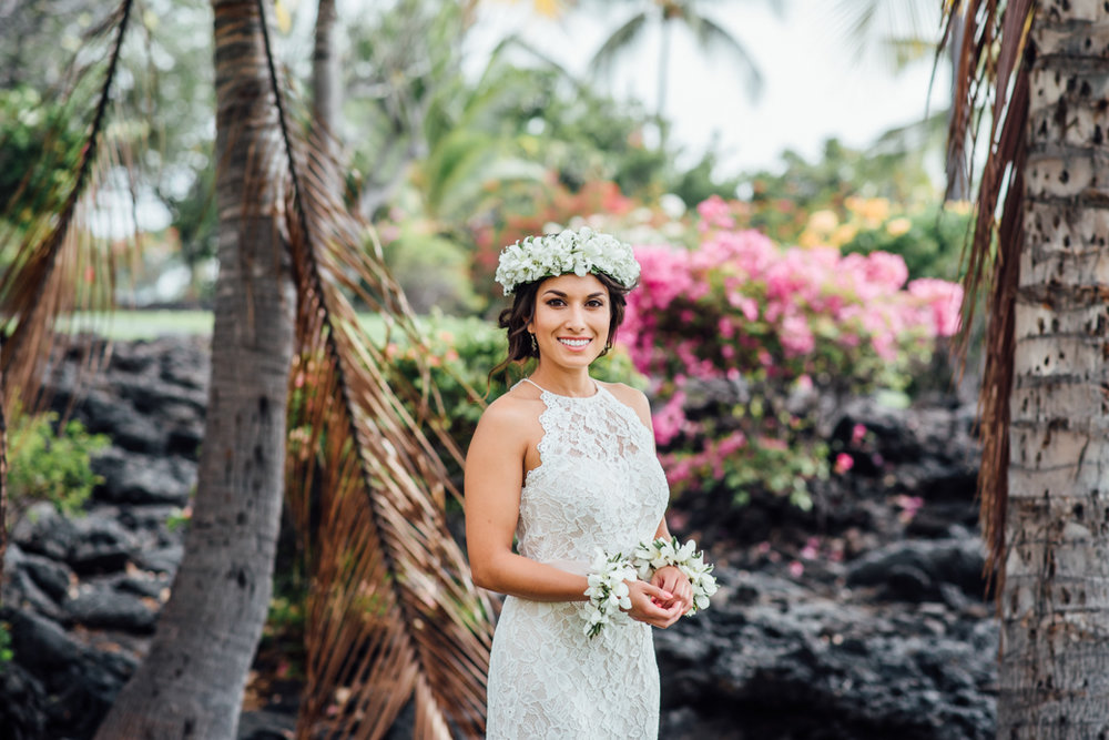 Stunning Sheraton Kona Wedding | Hawaii Wedding Photographer -