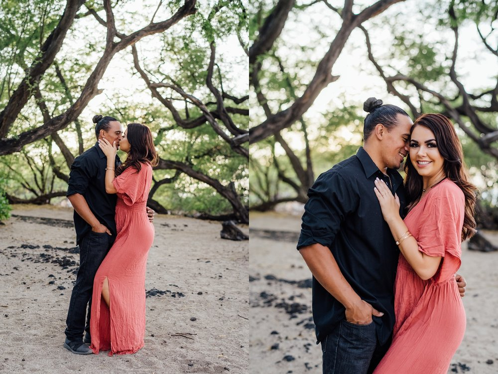 Couple in love at Abay beach