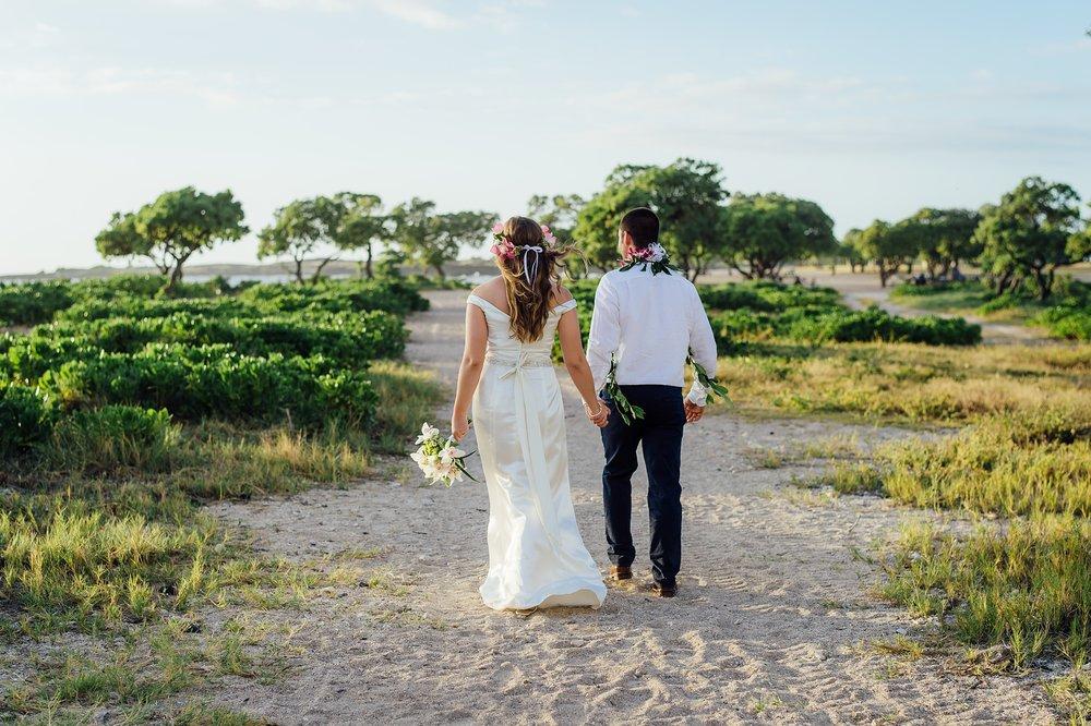 Kona Old Airport Wedding Hawaii Elopement Photographer