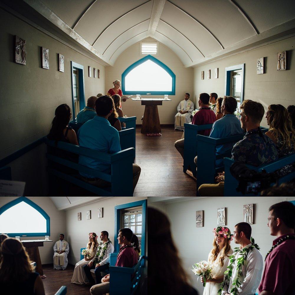 church wedding kailua kona hawaii wedding photographer