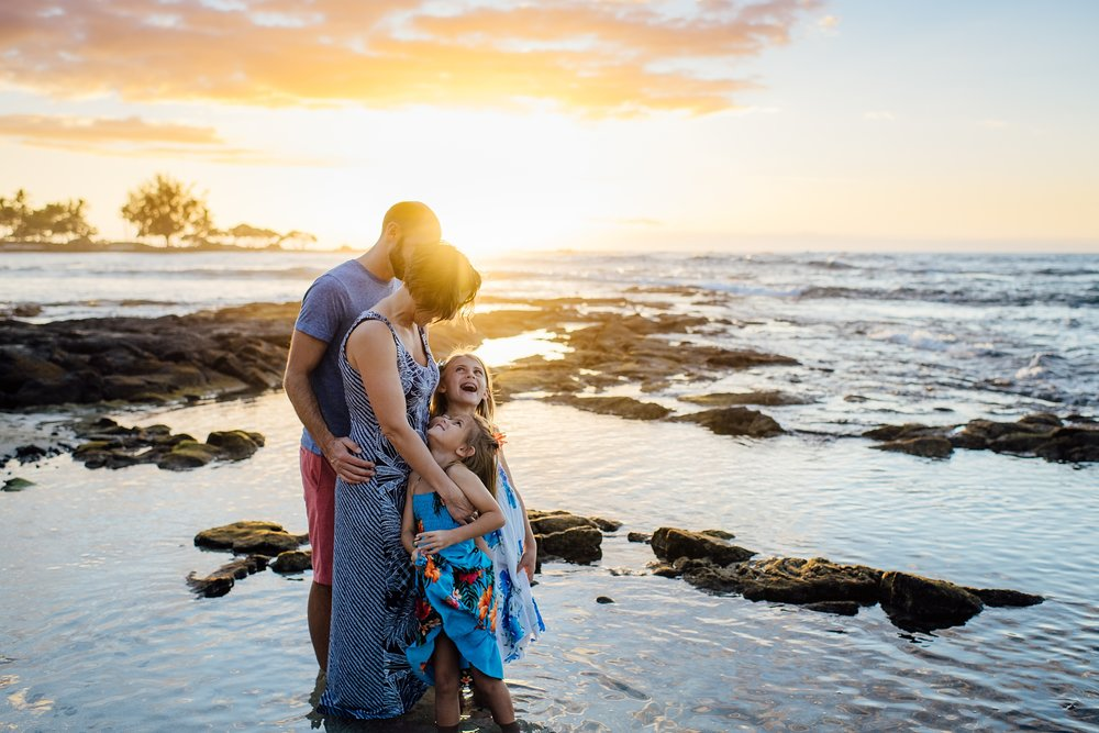 Big Island Photographer for Families who love authentic and emotive storytelling