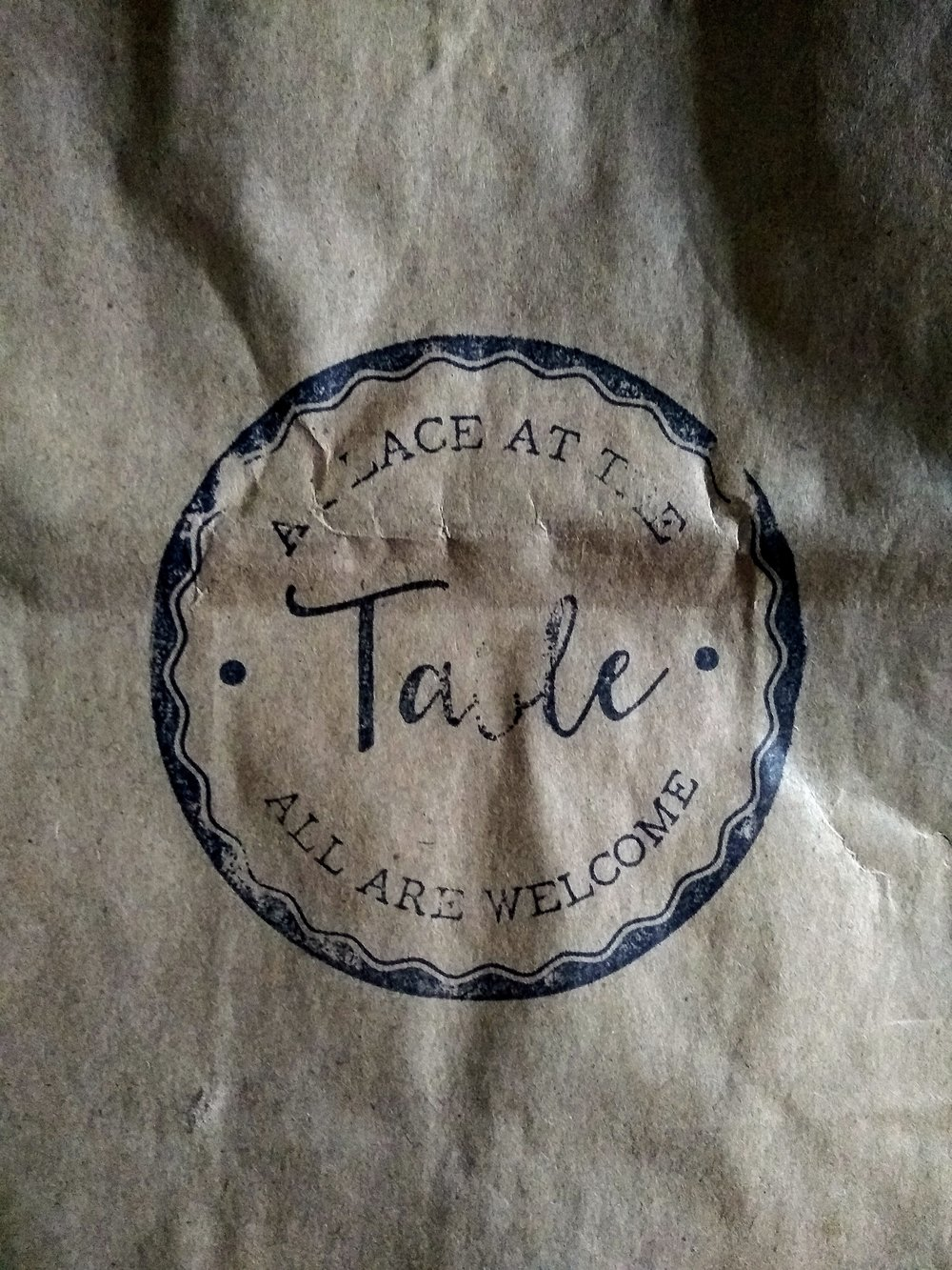 My paper bag souvenir.