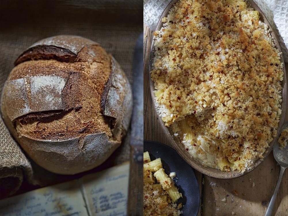 Bread and cheese macaroni, Dublin, 2015
