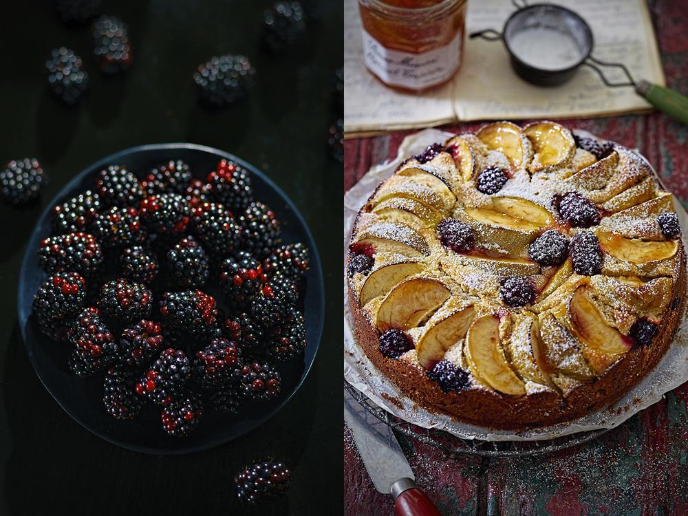 Love baking with blackberries, Summer, Dublin, 2015