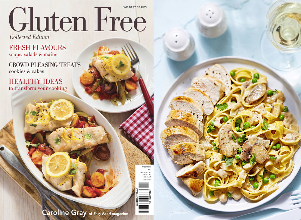 Gluten Free Cookbook by Caroline Gray from Easy Food, 2015