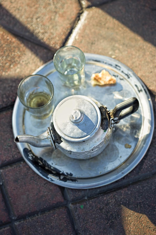 Kettle Mint tea, Morocco, 2017