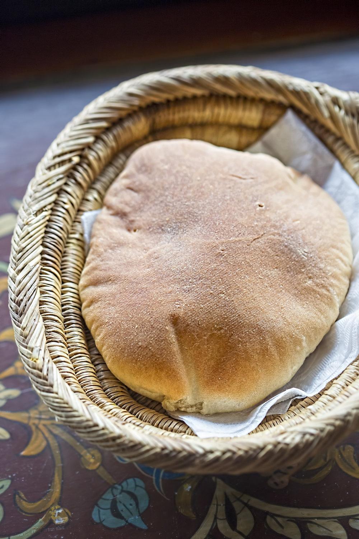 Pita bread, Morocco, 2017