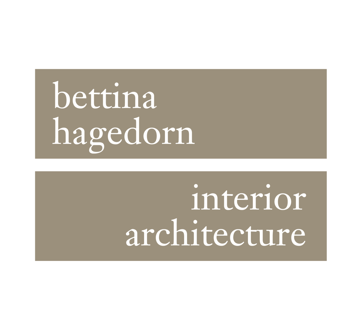 Bettina Hagedorn - interior architecture