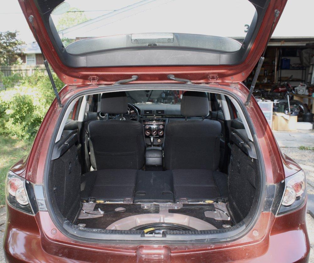 Mazda Sleeping Platform George Jones