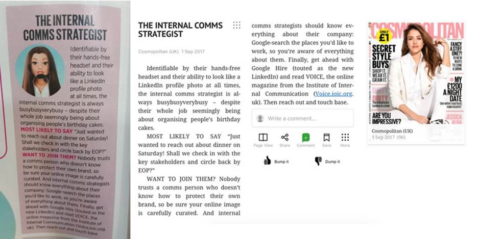 cosmopolitan magazine article on internal communications.jpg