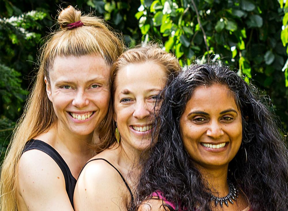 From Left: Deborah Haaksman, Nicola Tröger, Sita Menon.